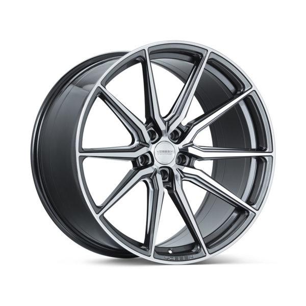купить оригинальные литые диски vossen hf-3 gloss graphite polished